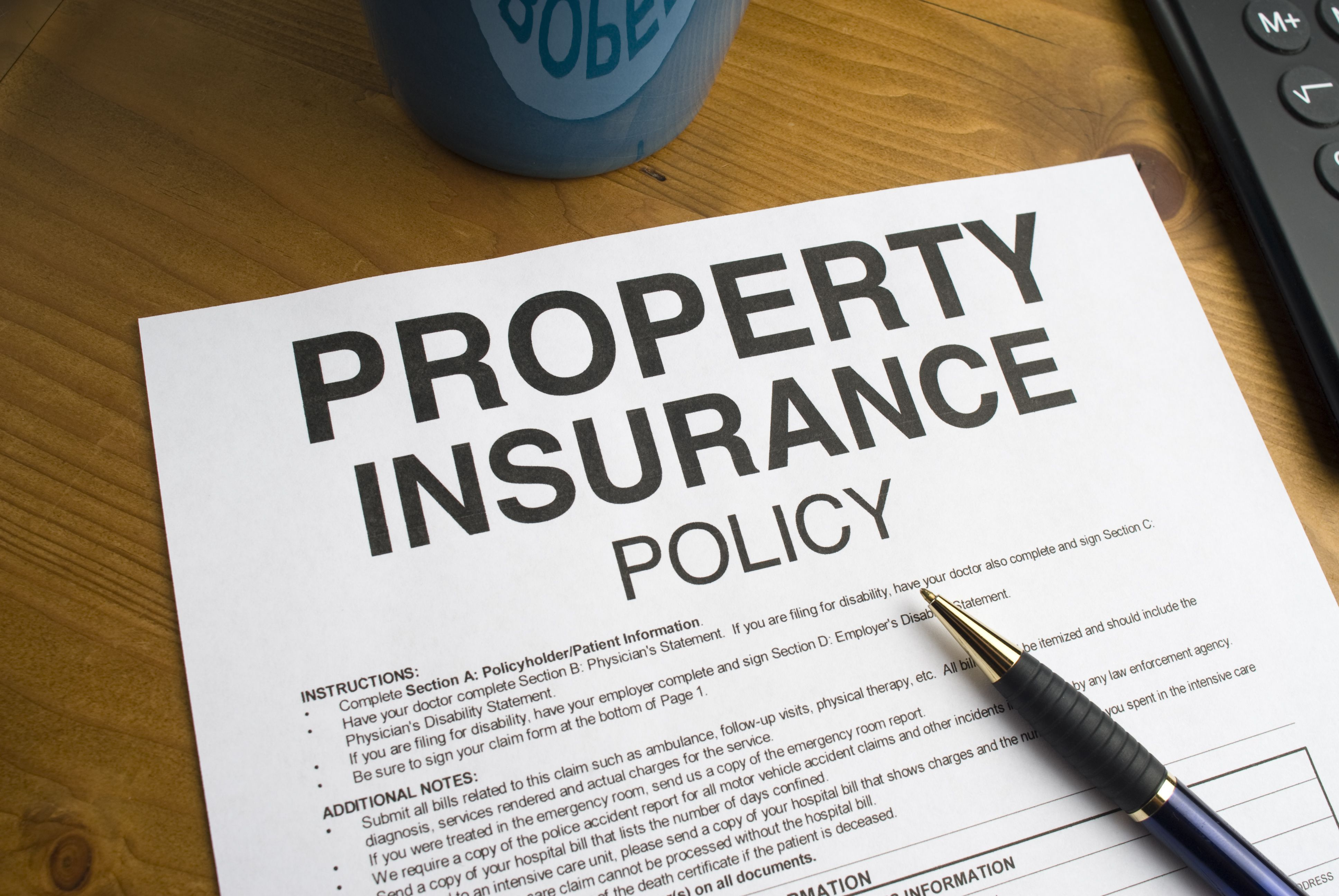 WHAT IS PROPERTY INSURANCE POLICY