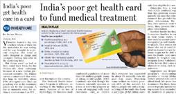 Rashtriya Swasthya Bima Yojana health card