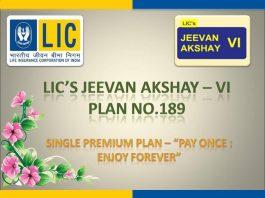 Get A Brief Idea About The LIC Jeevan Akshay VI Plan ...