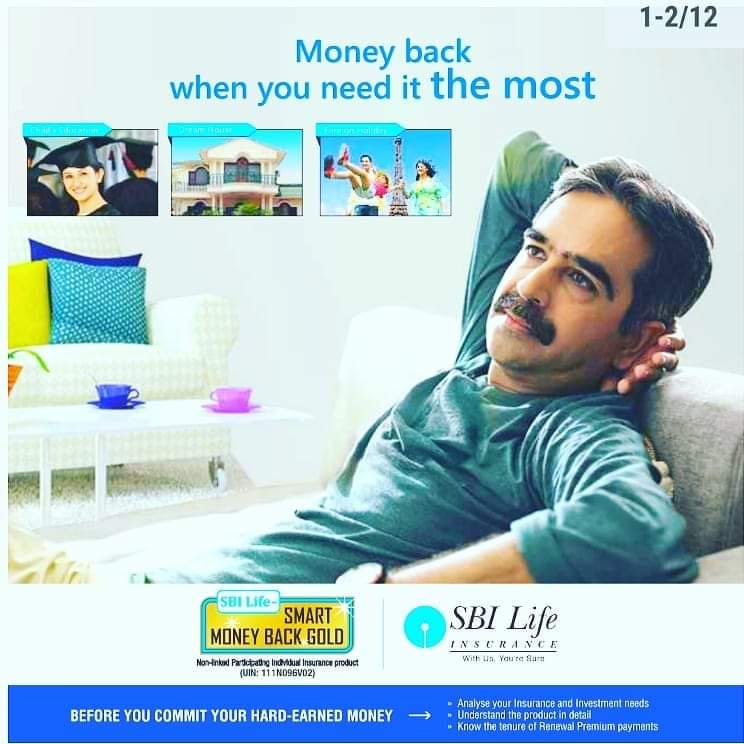 Benefits of the SBI Life Money Back Plan