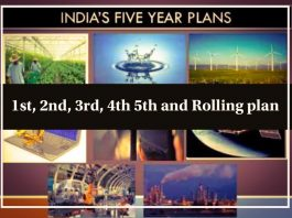 five year plan in India
