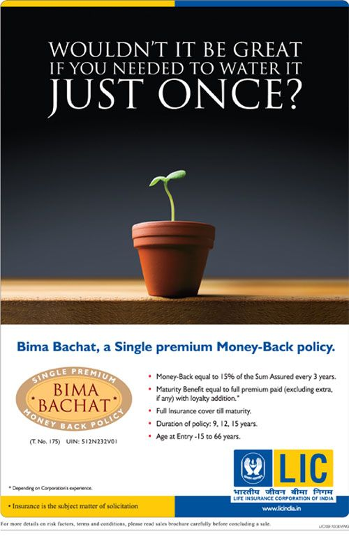 New Bima Bachat (9,12 and 15 Years) Money Back Plan