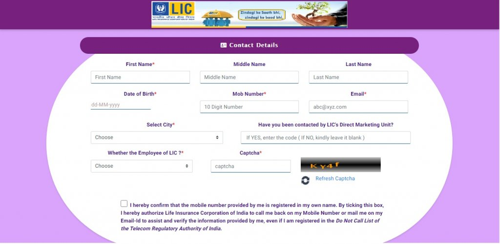 Steps to buy lic policy online without agent8