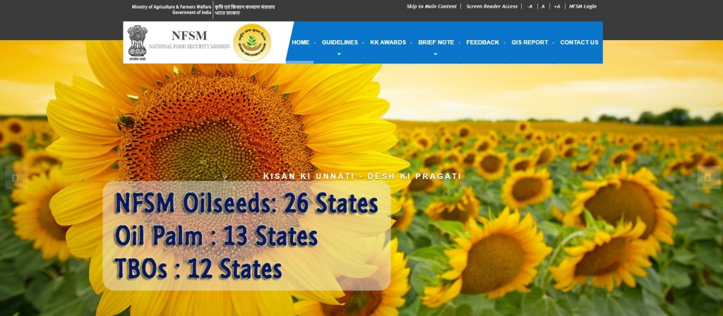 NFSM Oilseeds