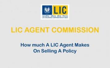 LIC Agent Commission Chart 2021